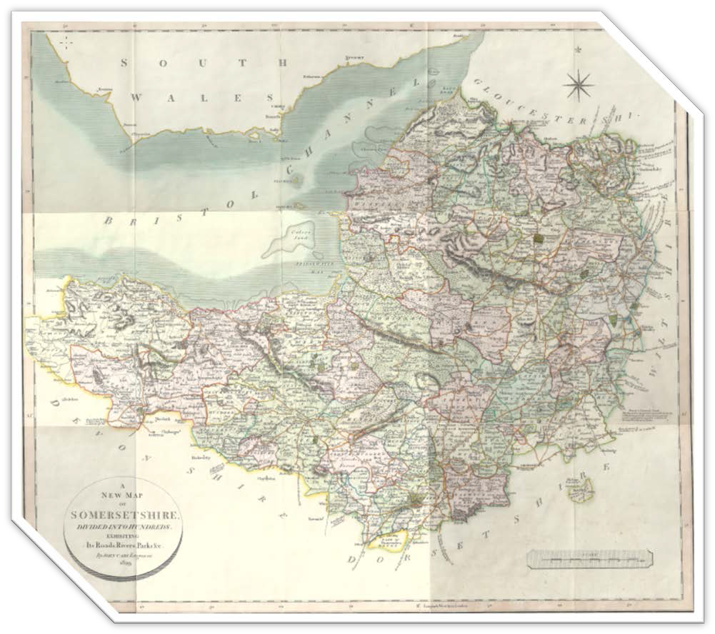 Reconstruction of the Somerset County map