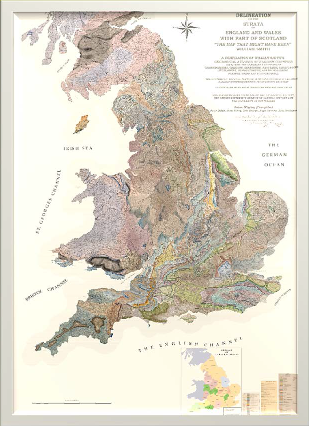 Interactive Map Of England.The Map That Might Have Been William Smith S Maps Interactive