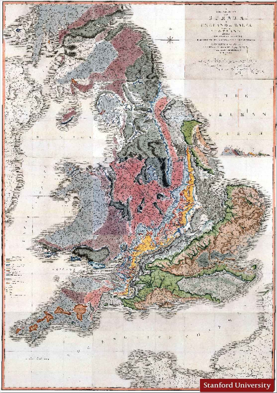 William Smith 1815 Map Number 34