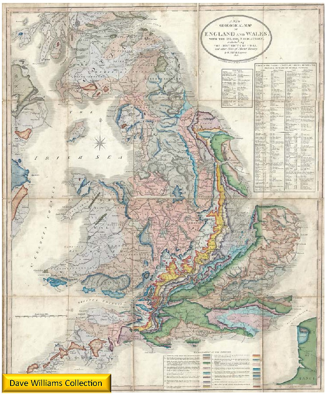 William Smith 1828 Map
